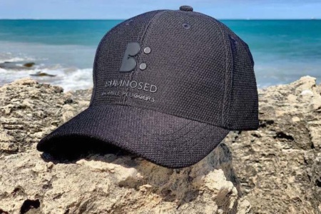 Honeycomb Weave Flexi Fit Cap - Carbon Black