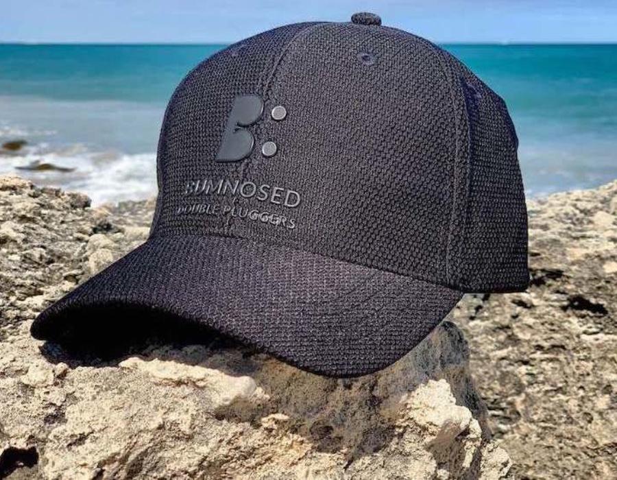 Honeycomb Weave Flexi Fit Cap - Carbon Black